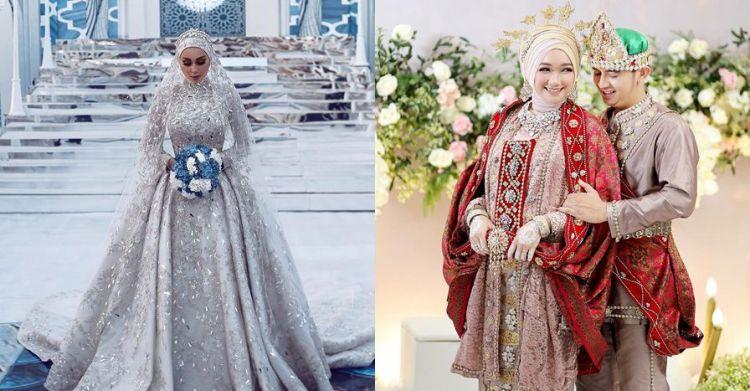 Gaun Pengantin Cantik Berhijab Inspirational 10 Inspirasi Gaun Pengantin Berhijab Cantik Dan Elegan