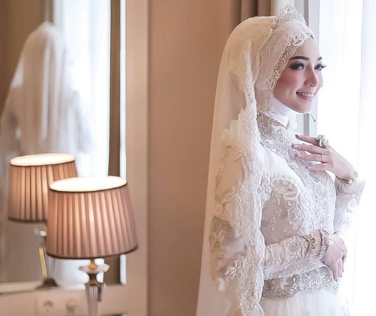 Gaun Pengantin Cantik Berhijab Unique 15 Inspirasi Gaun Pengantin Muslimah Yang Modern