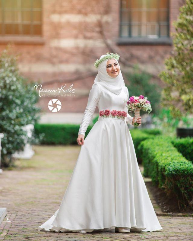 Gaun Pengantin Cantik Berhijab Unique 15 Variasi Gaun Pengantin Internasional Hijab Yang sopan