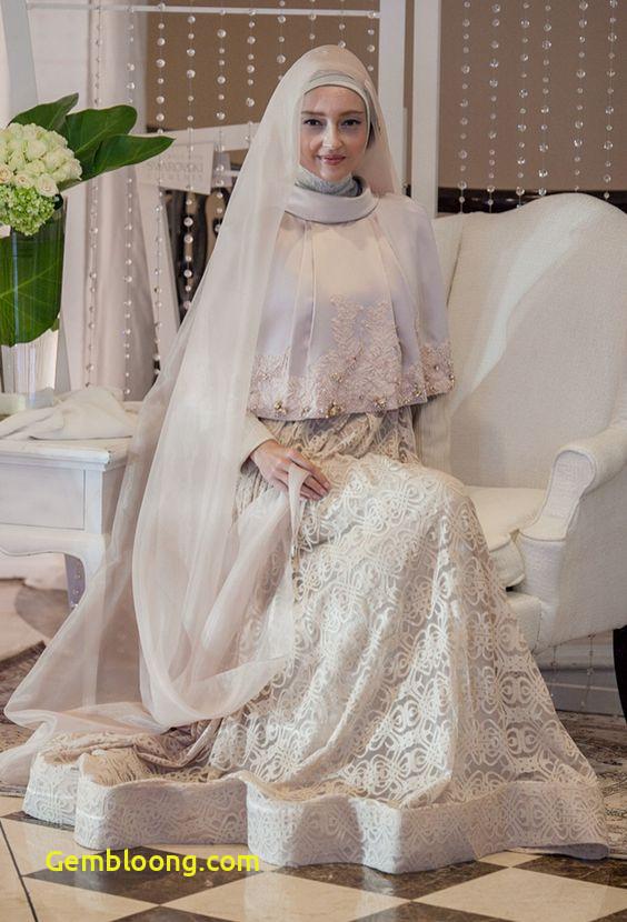 Gaun Pengantin Hijab Minimalis Awesome 59 Desain Gaun Pengantin Muslim Modern Terbaru Dan