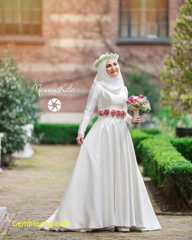 Gaun Pengantin Hijab Minimalis Elegant 15 Variasi Gaun Pengantin Internasional Hijab Yang sopan
