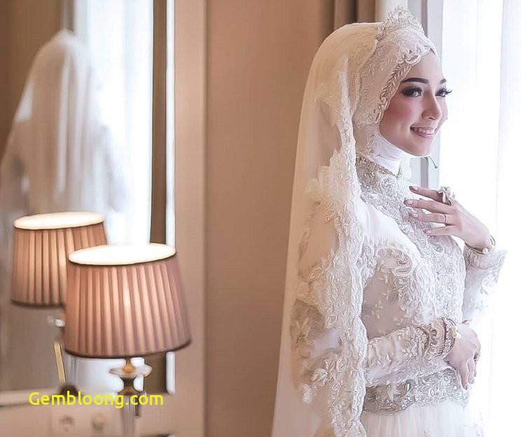 Gaun Pengantin Hijab Minimalis Lovely 15 Inspirasi Gaun Pengantin Muslimah Yang Modern