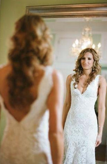 Gaun Pengantin Muslimah Modern Warna Gold Fresh Cheap Bridal Dress Affordable Wedding Gown