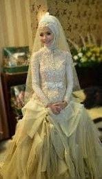 Gaun Pengantin Muslimah Modern Warna Gold Luxury 9 Best Gaun Pengantin Model Kebaya Images In 2016