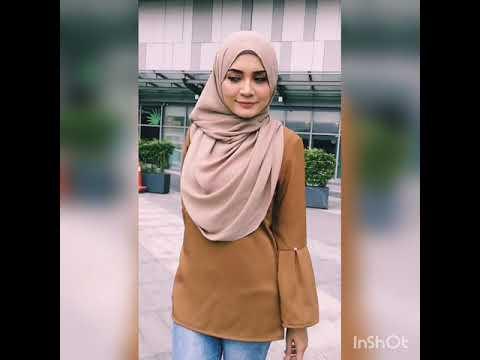 Gaun Pengantin Muslimah Modern Warna Pink Elegant Videos Matching Women Sweet Pink Modern Baju Kurung