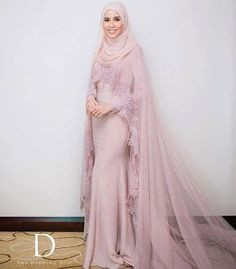 Gaun Pengantin Muslimah Modern Warna Pink Unique 162 Best Baju Nikah Images In 2019