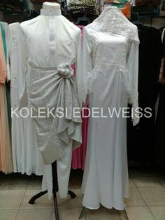 Gaun Pengantin Muslimah Simple Dan Elegan New 16 Best Gaun Pengantin Muslimah Malaysia Images