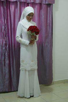 Gaun Pengantin Muslimah Simple Inspirational 16 Best Baju Nikah Images