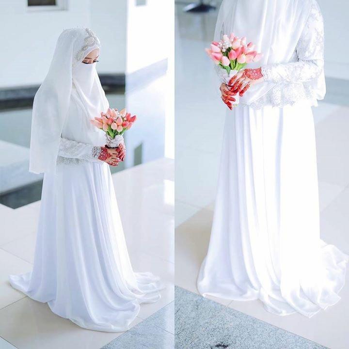 Gaun Pengantin Syari Muslimah Bercadar Best Of Inspirasi Gaun Pengantin Untuk Muslimah Bercadar Prelo