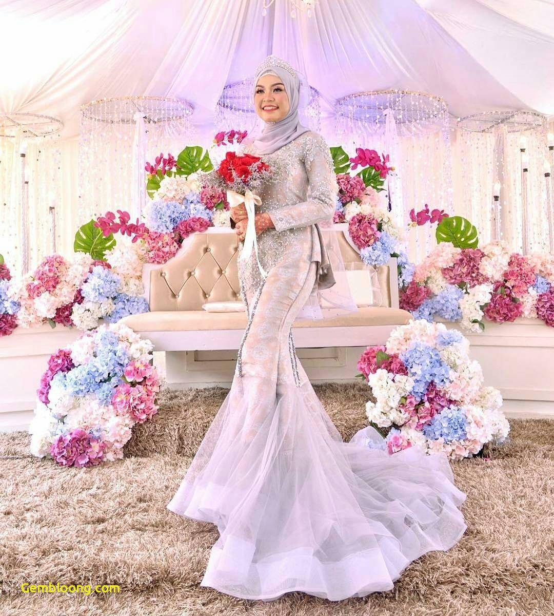 Gaun Sederhana Pengantin Berhijab Best Of 13 Inspirasi Gaun Pengantin Melayu Untukmu Yang Berhijab
