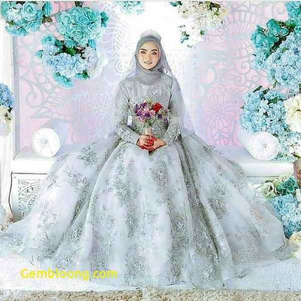 Gaun Sederhana Pengantin Berhijab New 15 Inspirasi Gaun Pengantin Muslimah Yang Modern