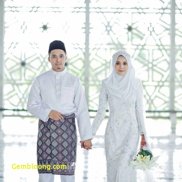Gaun Sederhana Pengantin Berhijab New Konsep Pengantin Melayu Berhijab Simpel Dan Sederhana Tanpa