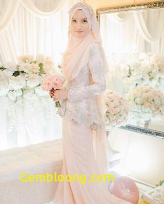 Gaun Sederhana Pengantin Berhijab Unique 54 Model Baju Kebaya Muslim Gaun Pengantin Muslimah