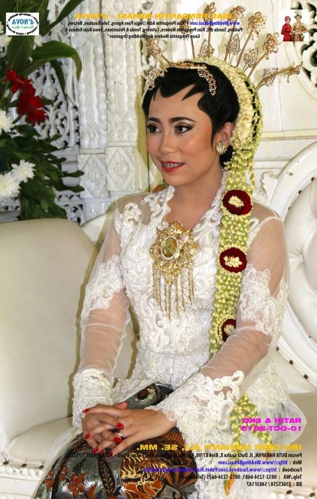 Ide Baju Pengantin Dodotan Muslim Dwdk Rias Pengantin Bekasi D Nova