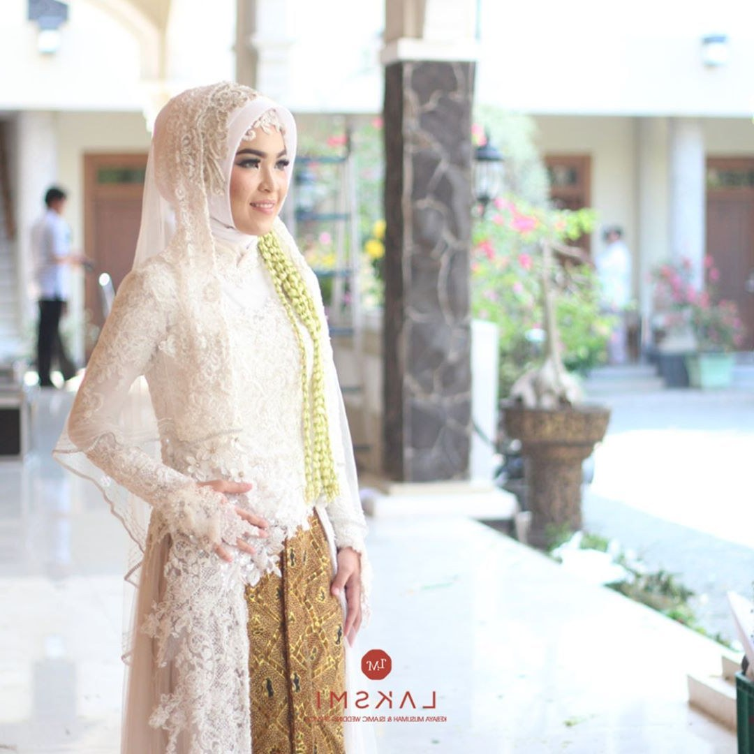 Ide Baju Pengantin Dodotan Muslim Whdr Wedding attire Adalah