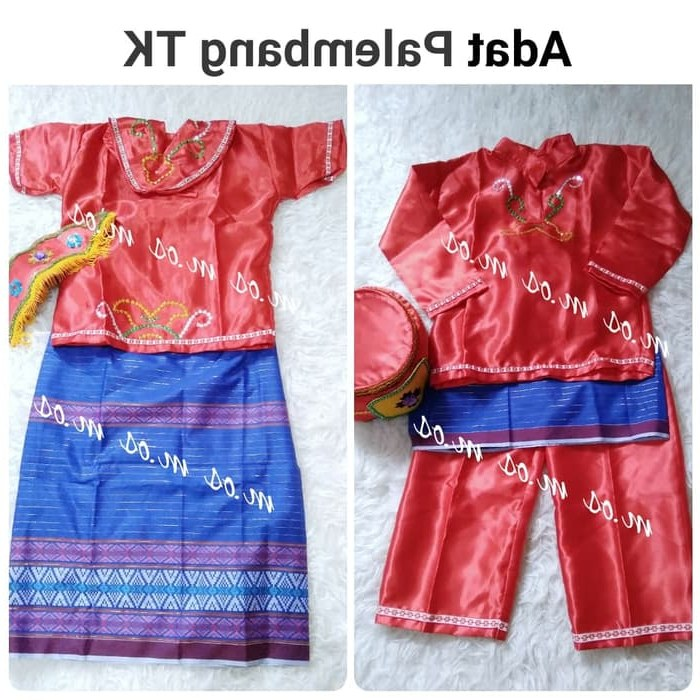 Ide Baju Pengantin Dodotan Muslim Y7du Jual Baju Adat Palembang Couple Kota Yogyakarta Mozzi Olshop