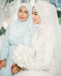 Ide Baju Pengantin Muslim Sederhana Zwdg 1921 Gambar Shabby Chic theme Wedding Terbaik Di 2019