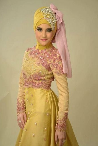 Ide Baju Pengantin Muslimah Y7du Model Baju Pengantin Muslim Baju Pengantin Muslim Dan Model
