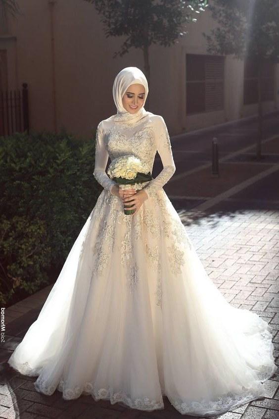 Ide Dress Pernikahan Muslimah Bqdd Gaun Pernikahan Muslim