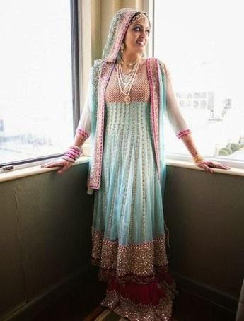 Ide Gaun Pengantin India Muslim 4pde Pakistani Bridal Dress