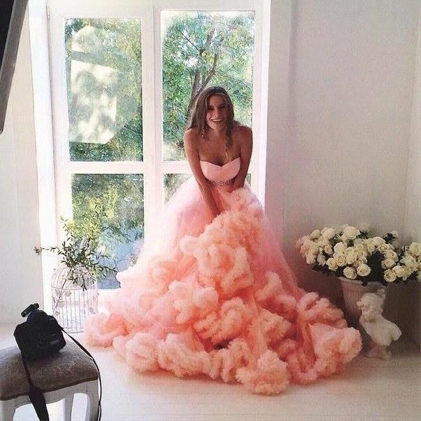 Ide Gaun Pengantin Muslimah Big Size 87dx 2016 Strapless oranye Pink Burgundy Purple Princess Wedding