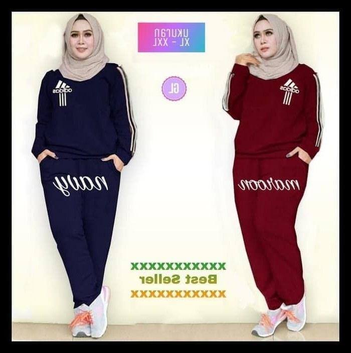 Ide Gaun Pengantin Muslimah Big Size U3dh Jual Terlaris Jumbo Traning Set Adidas Baju Olahraga Muslim Bigsize Kab Bandung Store Humaira