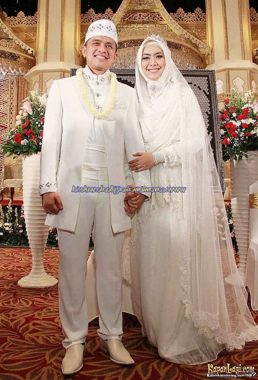 Inspirasi Busana Pengantin Muslimah Modern Tqd3 Baju Pengantin Muslimah Modern Terbaru 17