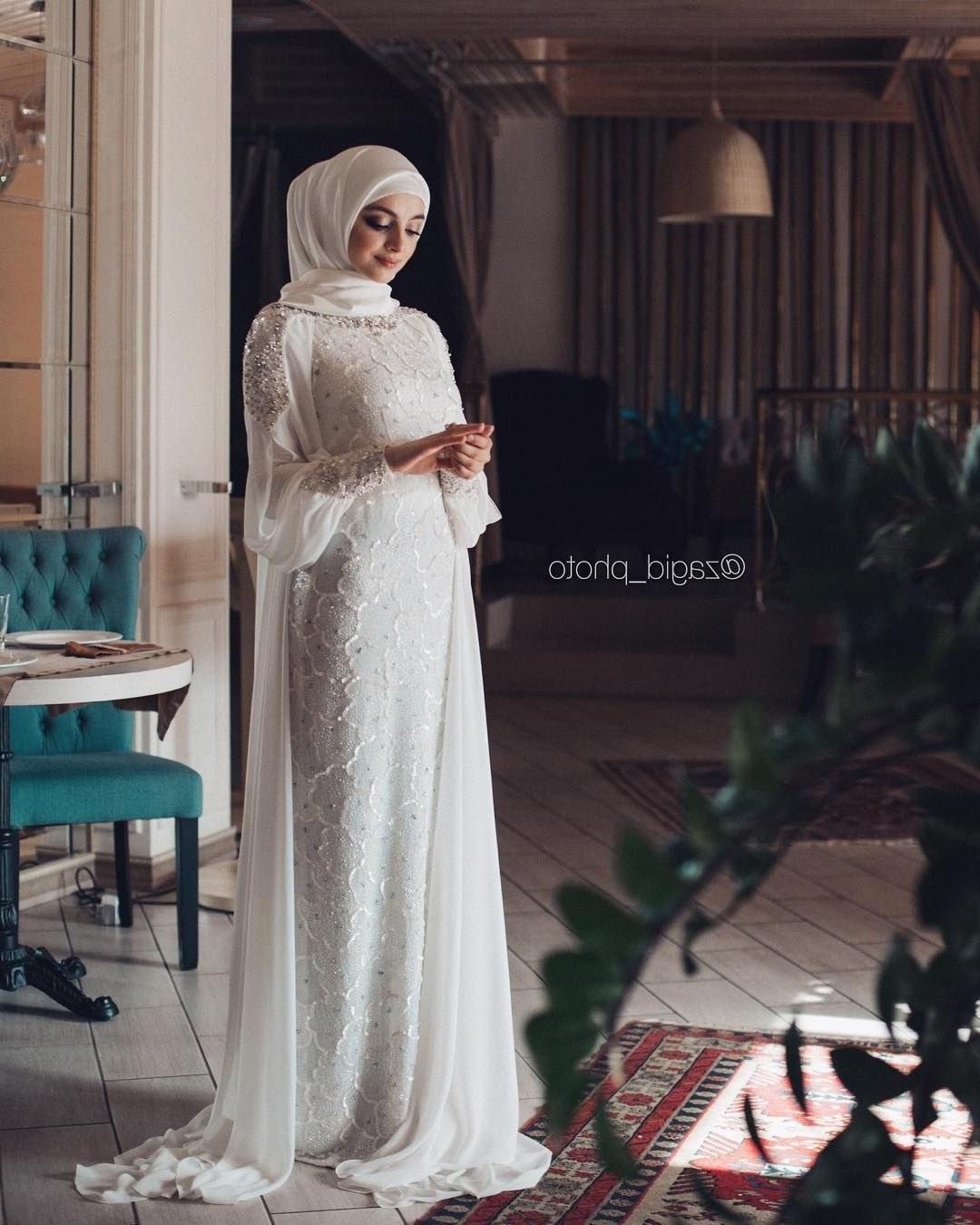 Inspirasi Gaun Pengantin Muslim Sederhana Qwdq Pin Oleh СевиРя Бекирова Di Хиджабы Di 2019