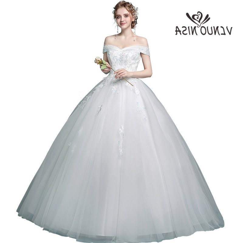 Inspirasi Gaun Pengantin Muslim Sederhana Tqd3 Ini Yiiya Bordir Pernikahan Gaun Putih Tanpa Tali Manik