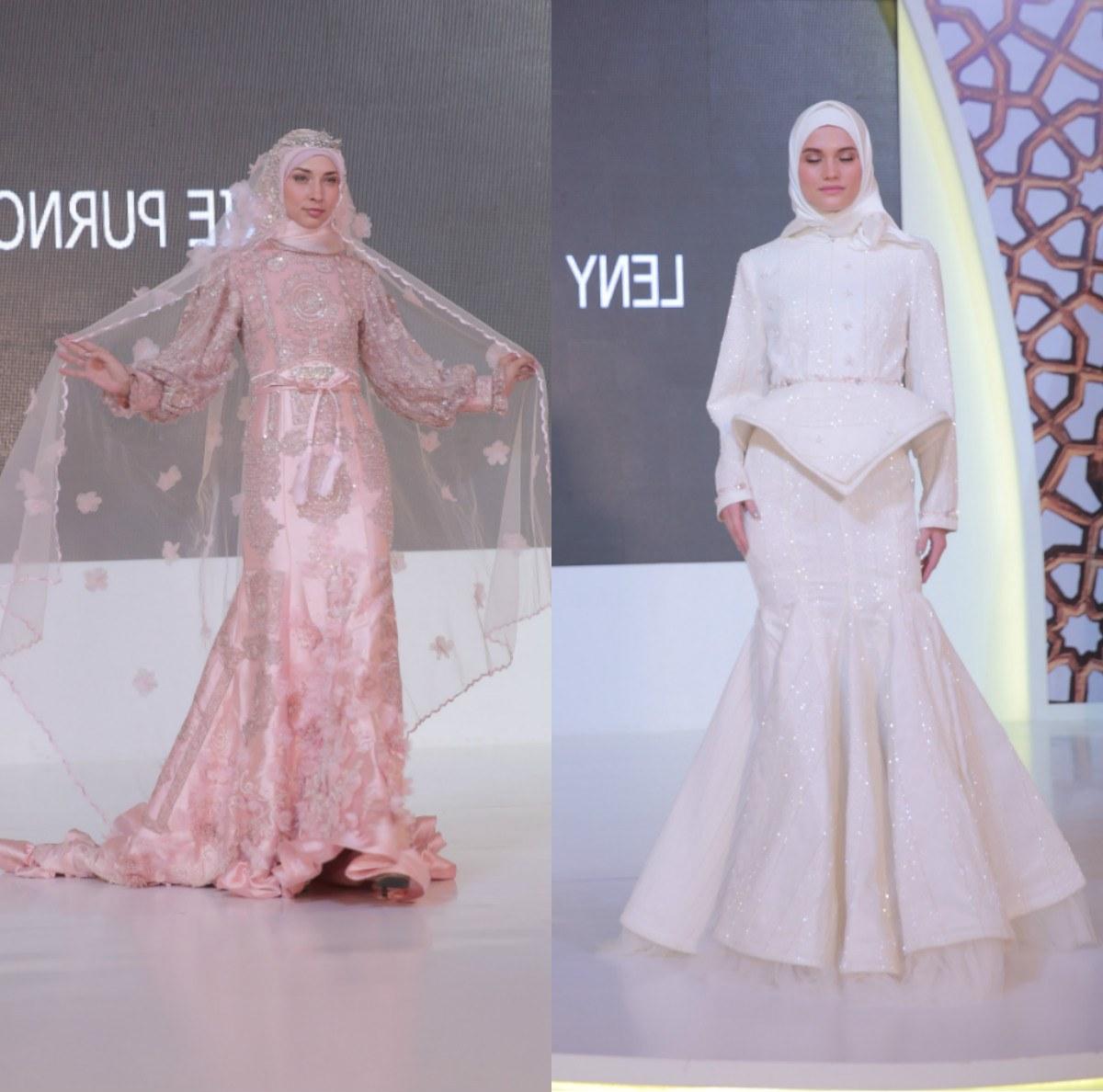 Inspirasi Gaun Pesta Pengantin Muslimah 87dx Kemeriahan Ramadan Runway 2020