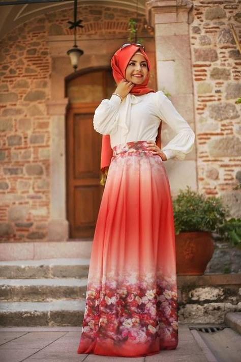 Inspirasi Gaun Pesta Pengantin Muslimah Qwdq Contoh Koleksi Baju Muslim Terbaru Untuk Kondangan Acara