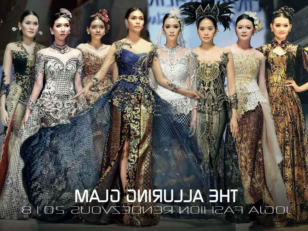 Inspirasi Gaun Pesta Pengantin Muslimah Zwdg Jogja Fashion Rendezvous 2018 the Alluring Glam by Mimi Meira