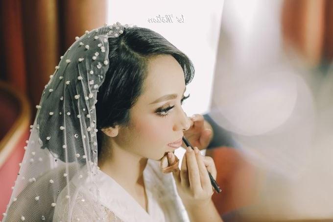 Model Busana Pengantin Hijab Budm Ikhsan & Diba Pernikahan Adat Batak Mandailing by Le Motion