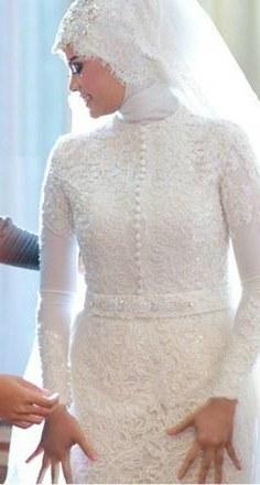 Model Gaun Pengantin Muslim 2017 Whdr Modern Muslim Wedding Dresses Best 137 Best Muslim