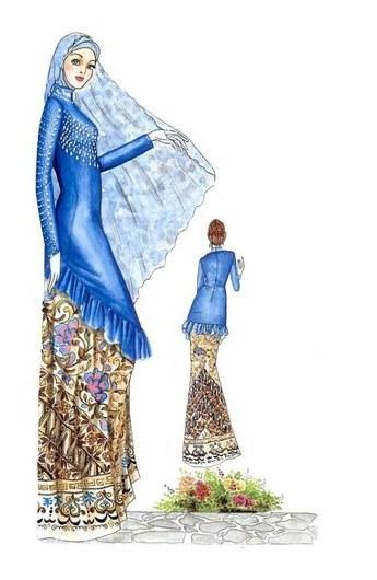 Model Gaun Pengantin Muslim 2017 Y7du ♥