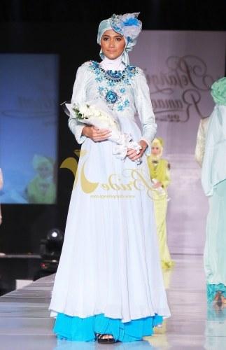 Model Gaun Pengantin Muslim Dian Pelangi Jxdu Gaun Dian Pelangi