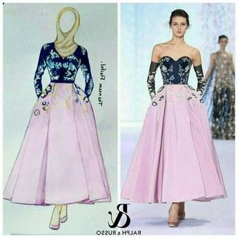 Model Gaun Pengantin Muslim Dian Pelangi Thdr Gamis Batik