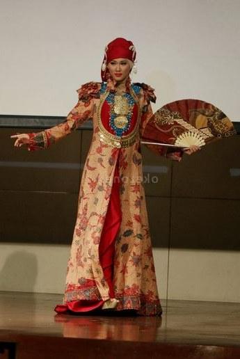 Model Gaun Pengantin Muslim Dian Pelangi Tldn Gamis Batik