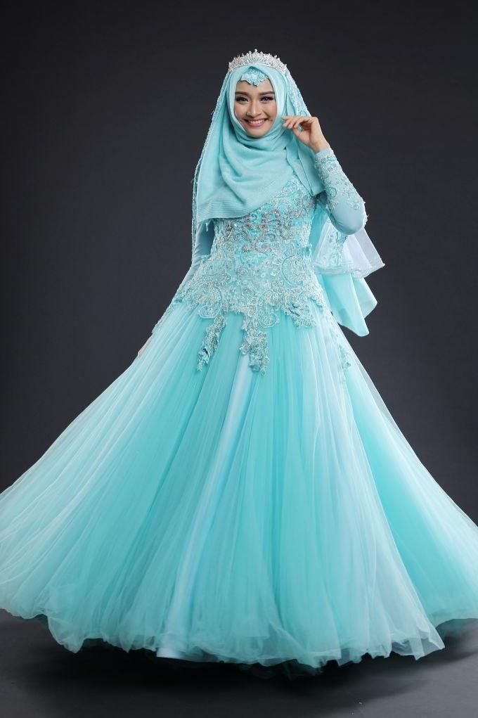 Model Gaun Pengiring Pengantin Muslim 0gdr New Arrival by Laksmi Kebaya Muslimah & islamic Wedding