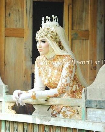 Model Gaun Pengiring Pengantin Muslim Drdp Model Hijab Pesta Pernikahan Menjadi Salah Satu Hal Yang Ba