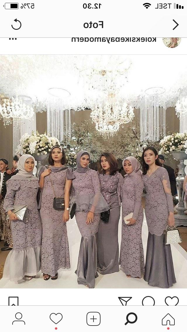 Model Gaun Pengiring Pengantin Muslim O2d5 Pin Oleh Rani Nuroniah Di Fashion Di 2019