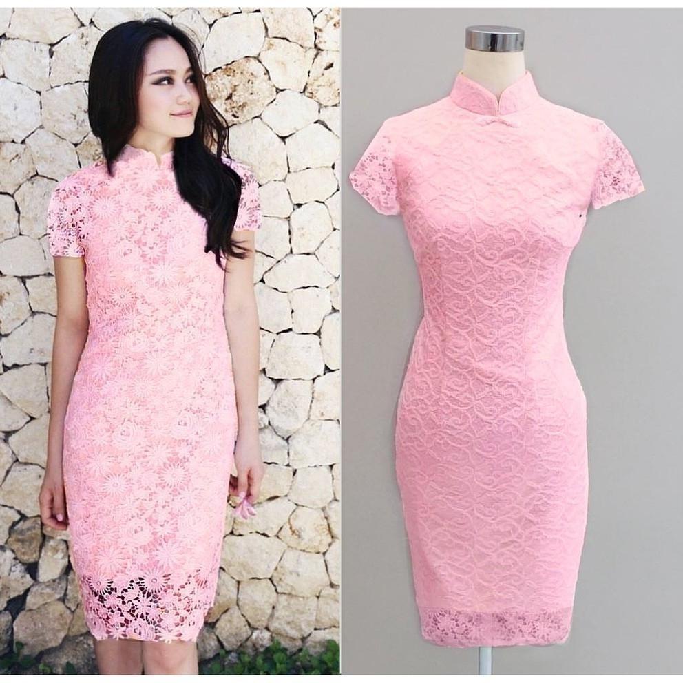 Model Gaun Pengiring Pengantin Muslim Qwdq Dress Batik Cantik Untuk Pesta Gamis Brokat