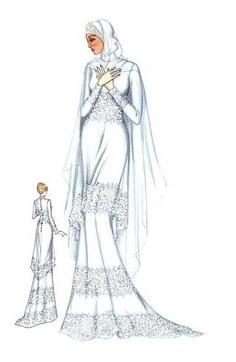 Model Sketsa Gaun Pengantin Muslimah U3dh 44 Best Hijab Fashion Designs Images