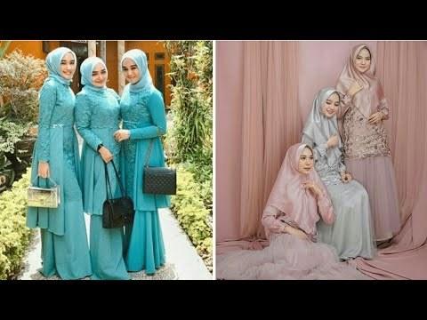 Bentuk Baju Gamis Pernikahan Whdr Videos Matching Inspirasi Kekinian Gaun Kebaya Pesta Mermaid