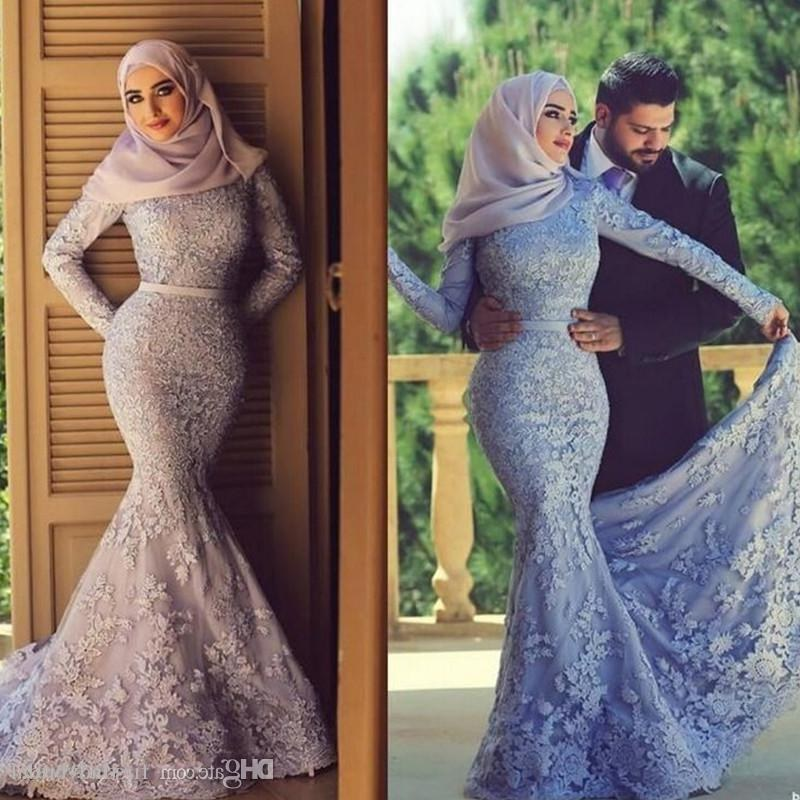 Bentuk Bridesmaid Dress Hijab E9dx Muslim Wedding Dresses for Women – Fashion Dresses