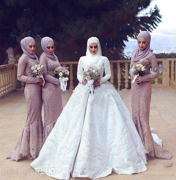 Bentuk Bridesmaid Hijab Pink 8ydm Bridesmaid Hijab Dress – Fashion Dresses