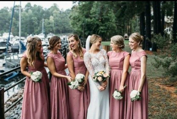 Bentuk Bridesmaid Hijab Pink Y7du Pin by forherandforhim On Fhfh Real Weddings