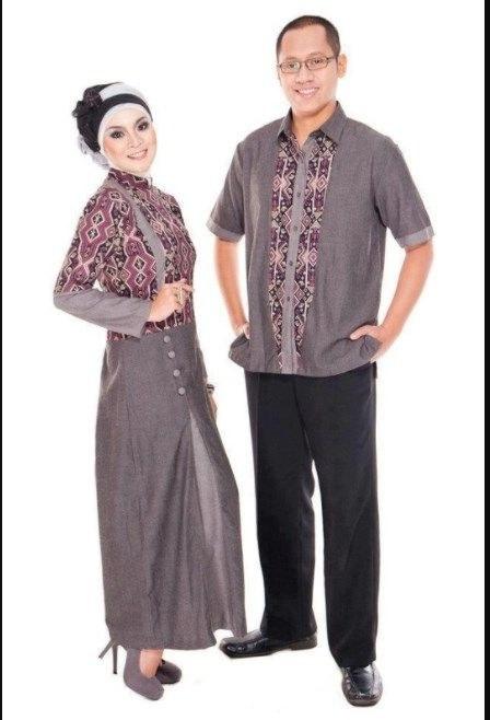 Bentuk Gamis Batik Seragam Pernikahan D0dg 30 Model Gamis Batik Seragam Pernikahan Fashion Modern