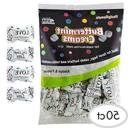 Bentuk Gamis Pernikahan E6d5 Amazon Elegani Always & forever Pillow Mints 50ct 50th