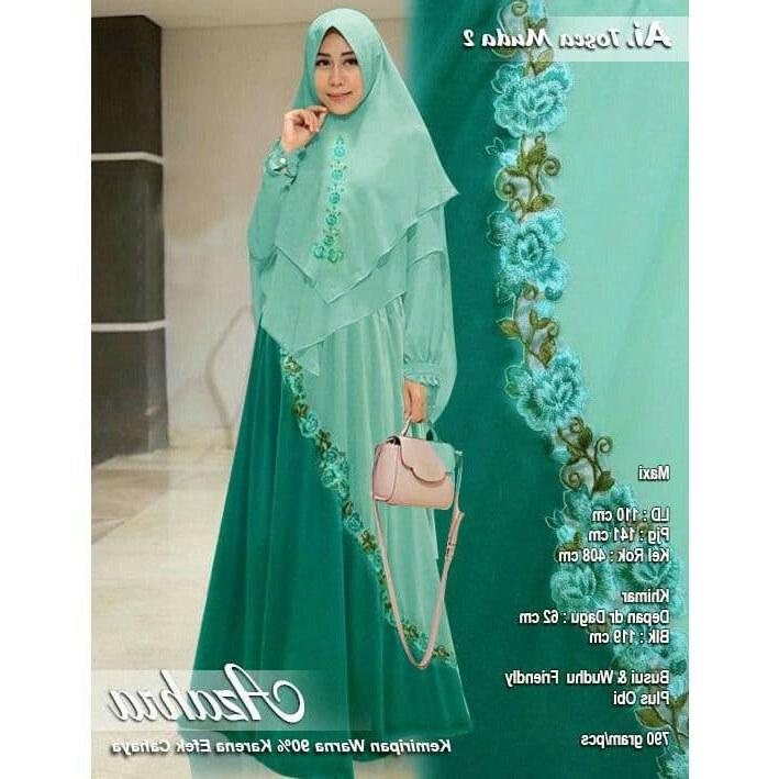 Bentuk Gamis Pernikahan Modern D0dg 30 Model Baju Gamis Pesta Pernikahan Modern Fashion